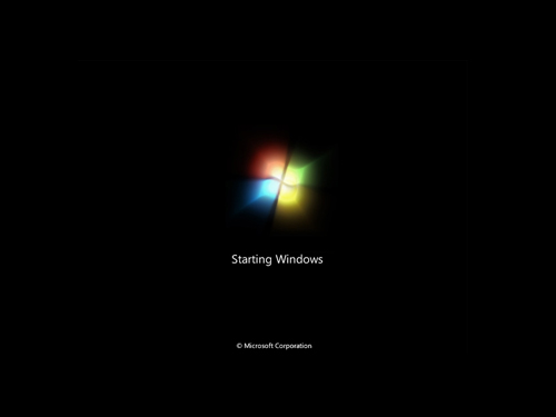 windows 7 bootscreen ඒක